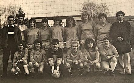Die 2. Damenmannschaft 1986.