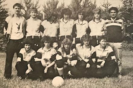 Mädchen A - Mannschaft | Saarlandmeister 1987.