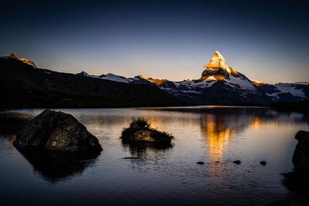 Fluhalp, Zermatt, Matterhorn, Stellisee, Wallis, Schweiz, Alpen, Swiss Alps, Switzerland