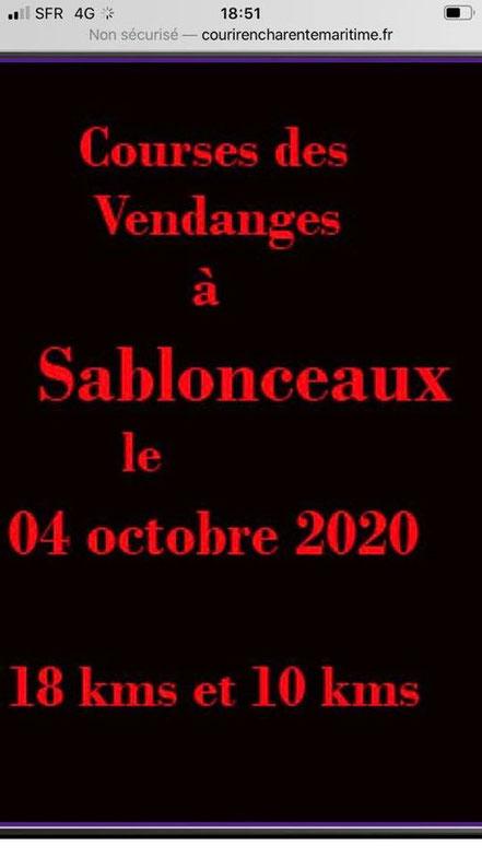 lesgassous sablonceaux nous attends dimanche 4 octobre ,inscrivez vous vite, le challenge du nombre srea pour nous