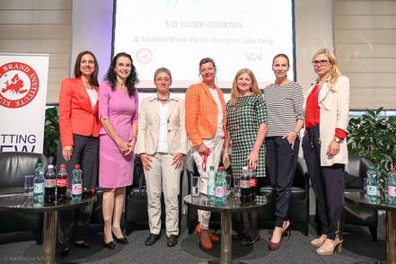 Women Leadership Forum 2014_Mag. Corinne Gabler, Mag. Tatjana Oppitz, Dr. Brigitte Bach, Anett Hanck, Michaela Huber, Corinna Tinkler