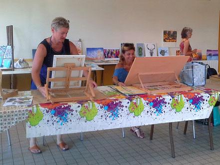 atelier peinture baie du mont st michel