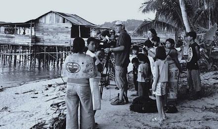Dreharbeiten Sumatra, ZDF