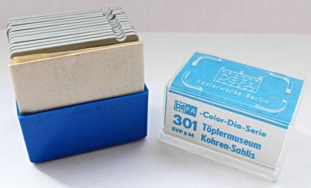 Dia-Serie DEFA  Töpfereimuseum Kohren-Sahlis