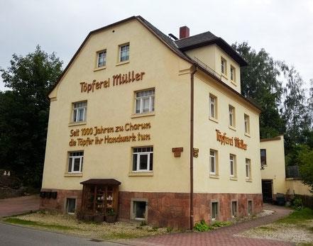 Töpferei Gundula Müller im heutigen Kohren-Sahlis