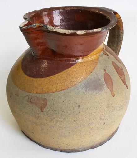 alte Kohrener Keramik Kohren-Sahlis Latzmuster