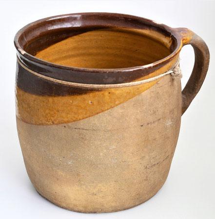 alte Kohrener Keramik Kohren-Sahlis Latzmuster Krug
