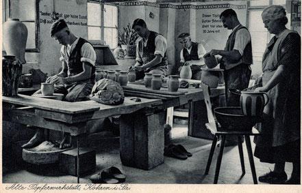 AK Töpferei Arnold 1931