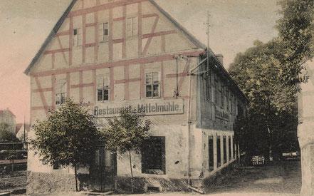 Kohren Sahlis Restaurant Mittelmühle