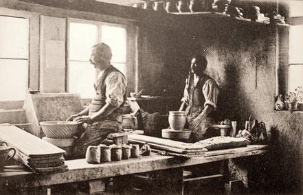 AK Kohrener Töpferei Arnold 1931
