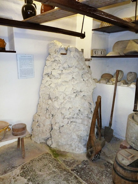 Tonberg im Töpfermuseum Kohren-Sahlis