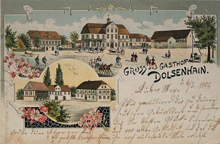 Litho Lithographie Dolsenhain Kohrener Land