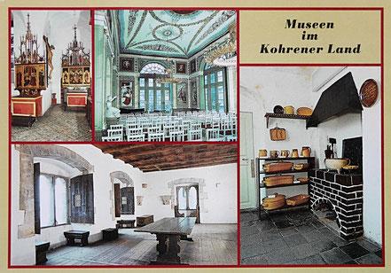 AK DDR Museen Kohrener Land