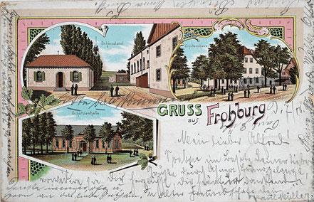 Litho Lithographie Frohburg Kohrener Land