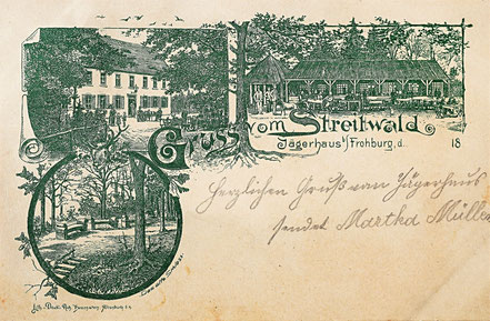 Litho Lithographie Streitwald Frohburg Kohrener Land