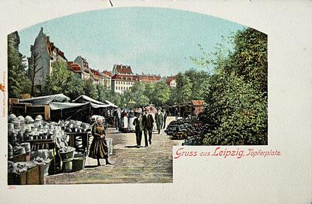 AK Leipzig Töpferplatz