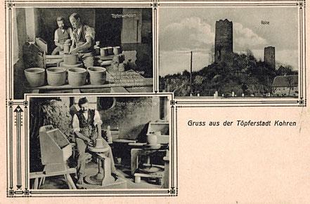 AK Töpferstadt Kohren