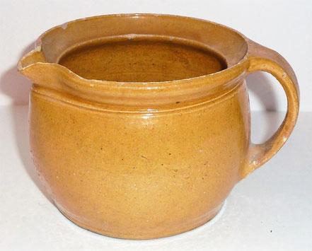 alte Kohrener Keramik Kohren-Sahlis Bleiglasur Krug