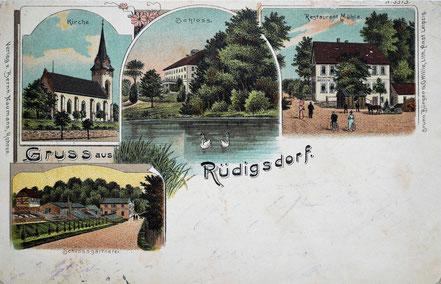 Litho Lithographie Rüdigsdorf Kohrener Land