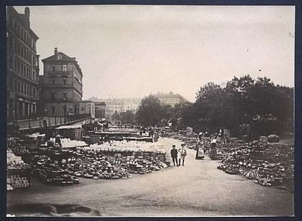 Hermann Walter Leipzig 1890 Töpferplatz Töpfermarkt