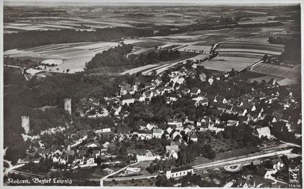 Kohren-Sahlis Luftbildaufnahme