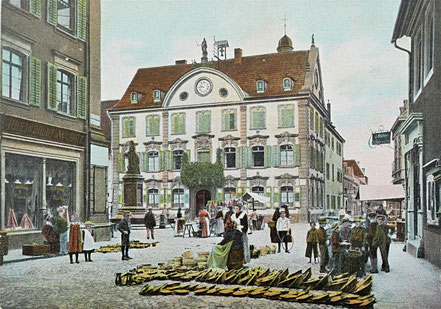 AK Offenburg Rathaus