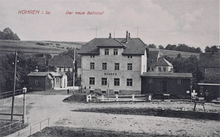 Kohren-Sahlis Eisenbahn Zug Nebenbahn Frohburg
