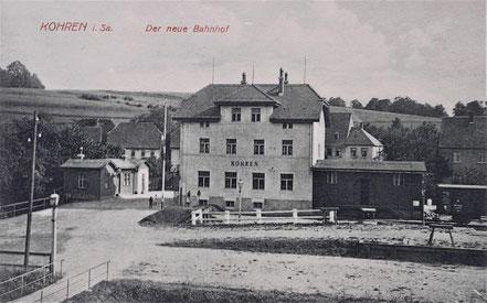 Kohren Bahnhof Kohren-Sahlis