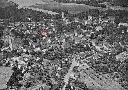Fliegeraufnahme Töpferei Max Arnold Kohren