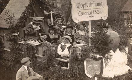 Waldenburg Festumzug 1925