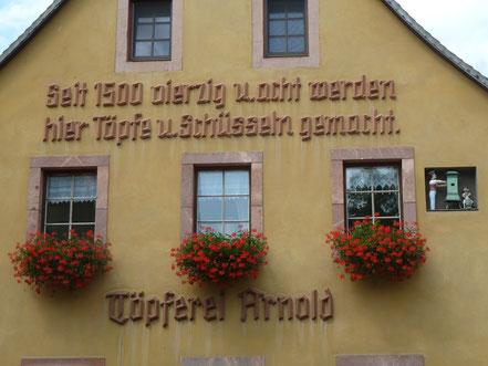 Haus der Töpferei Arnold in Kohren-Sahlis