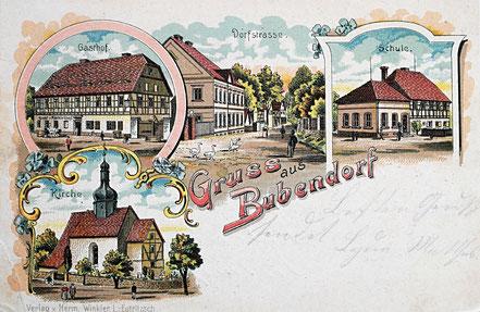 Litho Lithographie Bubendorf Frohburg Kohrener Land