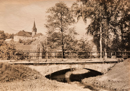 Kohren-Sahlis Bahnbrücke Eisenbahn
