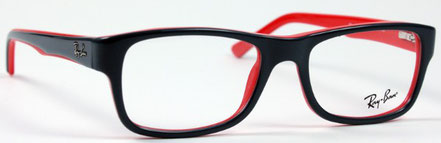 Ray Ban Kinderbrille mit stabilem Bügel. Diese Kinderbrille kann mit dünnsten Gläsern gefertigt werden. Gläser mit Kantenfilter oder zylindrisch geschliffene Brillengläser sind möglich