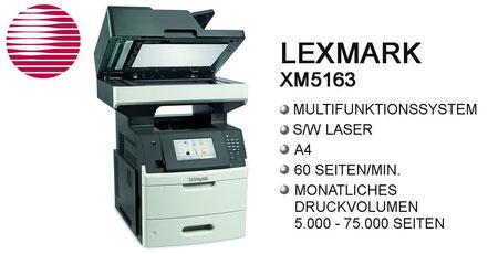 WinWin Office Network, s/w Laser, Multifunktionssystem, Laserdrucker, DIN-A4, 60 Seiten/min, Stroh, Bürotechnik Stroh, Features, Drucksystem, Lexmark, Lexmark XM1140, Moers, Duisburg, Oberhausen, Krefeld, Düsseldorf, Ruhrgebiet, Niederrhein, Büro