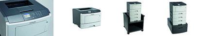 Lexmark M1140+, Lexmark, s/w-System Multifunktionssystem, s/w Laser Drucker, DIN-A4, 38 Seiten/min, Stroh, Bürotechnik Stroh, Features, Drucksystem, Moers, Duisburg, Oberhausen, Krefeld, Düsseldorf, Ruhrgebiet, Niederrhein, Büro