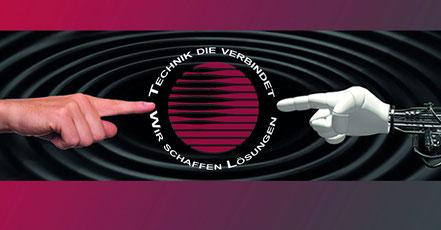 Technik die verbindet - Wir schaffen Lösungen Logo Bürotechnik Stroh GmbH Technologie und Mensch