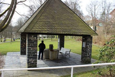 Trinkbrunnen im Kurpark