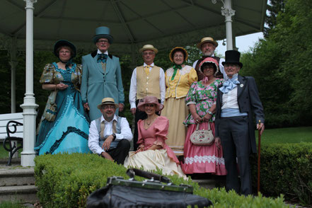 Gruppenfoto der Tanzgruppe