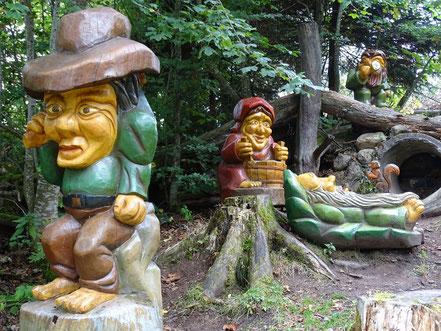 Skulpturen- und Naturerlebnispfad