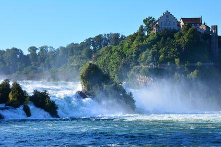 Rheinfall bei Schaffhausen (Schweiz)