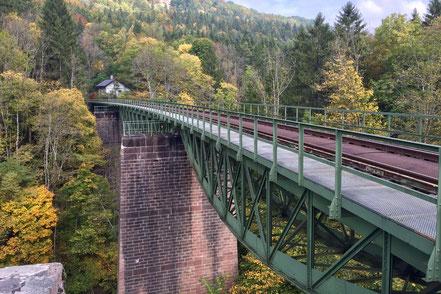 Wutachviadukt der Sauschwänzlebahn bei Grimmelshofen