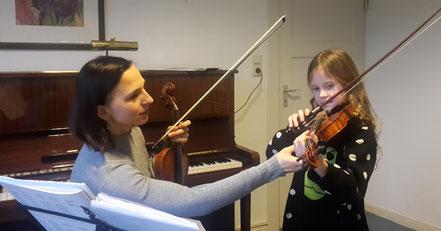 Geigenunterricht Justyna Mrozek