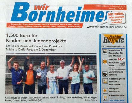 22.07.-.2017 - Wir Bornheimer