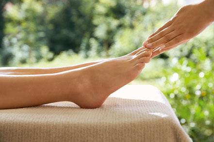 Fußpflege Fußmassage
