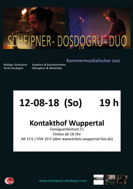 Rüdiger Scheipner Tarik Dosdogru Jazz Konzert