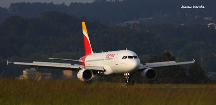 Landing A319 IBE nueva librea