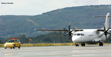 ATR42 con el amarillo a la vista !