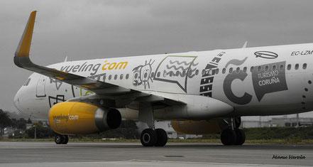 """A 320 Vueling - Librea """" Turismo Coruña"""""""