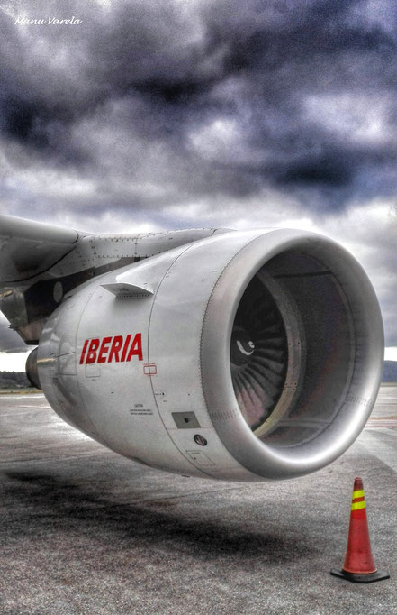 Motor Nº1 - Airbus A320 IBERIA